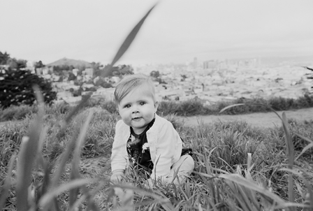 On Location: Kite Hill Baby Portraits